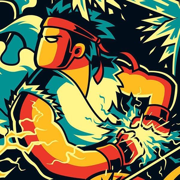 Ryu by Anggatantama Art